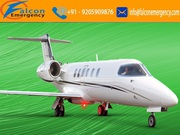 Medical Emergency Air Ambulance Service in Indore at Cheap Fare