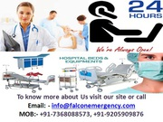 Book Most Trusted and Hi-tech Air Ambulance Service in Bhopal with Med