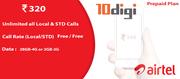 Airtel Postpaid Plans by 10Digi