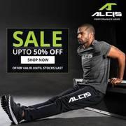 Upto 50% Off on Sportswear - Alcis Sports