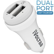 iVoltaa 2 Port Smart Car Charger for Apple iPhone,  Samsung