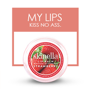 Moisturize your Lips with Skinella Strawberry Lip Balm