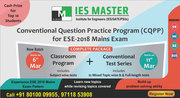 ESE 2018 Mains Preparation Program