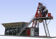 Mobile concrete plant Constmash Compact 60 (60 m3 / h)