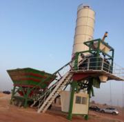 Mobile concrete plant Constmach Mobile 30 (30 m3 / h)