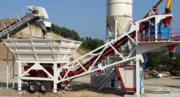 Mobile concrete plant Constmach Mobile 60 (60 m3 / h)
