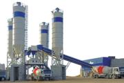Stationary concrete plant Constmash S 30 (30 m3 / h)