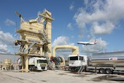 Stationary asphalt plant Sinosun SAP 64 (64 t / h)