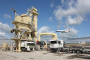 Stationary asphalt plant Sinosun SAP 80 (80 t / h)