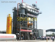 Hot recycling plant of asphalt RAP160 (160 t / h)
