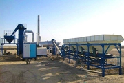Mobile asphalt plant Sinosun CAP60 (60 t / h)