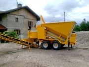 Used mobile concrete plant At 15-1200 (20 m3 / h) Sweden