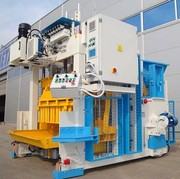 Vibropress for the production of paving slabs,  curbs of Mobil