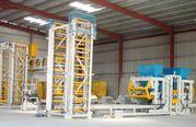 Block-machine,  Vibropress for the production of paving slab U-1000