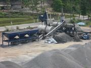 Mobile asphalt plant Sinosun QLB 80 - 80 t / h.