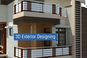 3d Exterior Design Services in Delhi @8178825326