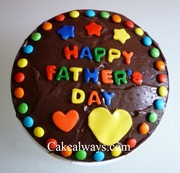 Send Online Father Day Cakes in Kamla Nagar
