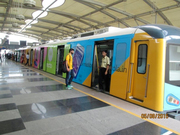 Advertising in Rapid Metro Gurgaon