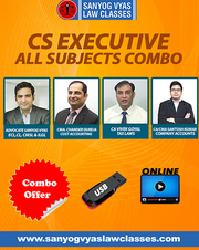 High level CS Executive Classes with Sanyogvyalawclasses