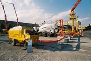 Concrete pump HBTS50 (50 m3 / h)