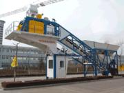 Mobile concrete plant «Changli» YHZS 25 (25 m3 / h)