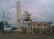 Stationary concrete plant