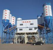 Stationary concrete plant HZS 180 m3 / h