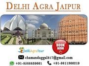 Golden Triangle Tour Package Delhi Agra Jaipur