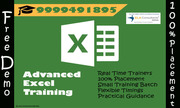 Join Best Advanced Excel Institute in Delhi : SLA Consultants India