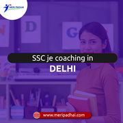 SSC JE Coaching in Delhi  - meripadhai.com