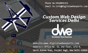 Custom Web Design Services Delhi