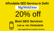 Grab up to 20% discount on affordable SEO services in Delhi 7503544039