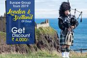 UK Scotland GroupHoliday Tours Packages from Delhi India