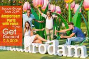Amsterdam Paris SwitzerlandGroup Tours Packages from Delhi India