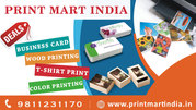 Printing Services with Home Delivery - Print Mart India