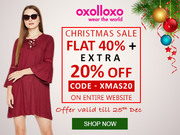 Christmas Sale - Long Sleeve Dress online at Oxolloxo