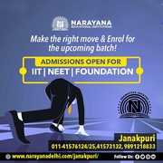 Admissions open for IITJEE, NEET and Foundation Courses at Narayana