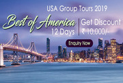 America Holiday Packages  from Delhi India