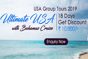 USA with Cruise Holiday Packages from Delhi India