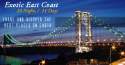 East Coast USA Holiday Packages from Delhi India