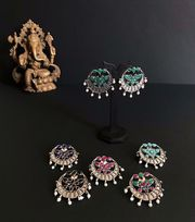 HabereIndia Fashion Jewellery for Party and Festives - Jhumki