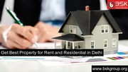 Get Best Property for Rent and Residential in Delhi