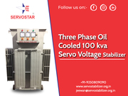 100 kva Servo Voltage Stabilizer Company in India