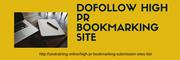 Dofollow High PR Bookmarking site