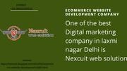 Ecommerce website Development Company - Ecommerce website design