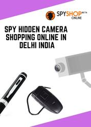 Buy spy hidden cameras online