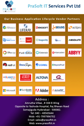 Business Application Lifecycle Vendor Partners of PraSoft IT Services