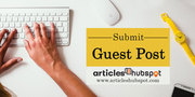 Submit your free guest post at Articles hubspot.