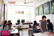 drawing coaching at raghuvansham school of modern art