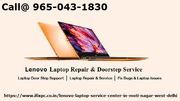 Lenovo laptop service center in Moti Nagar Delhi
